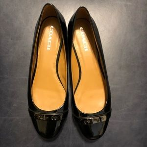 Coach Oswald Patent Leather Ballet Flats Size 11